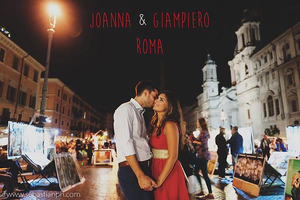 Un Romantico servizio fotografico di Fidanzamento a Roma