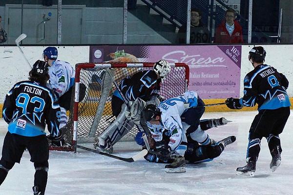 Coventry Blaze V's Solway Sharks 16-02-13