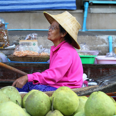 Bangkok Floating Market December 28 2010