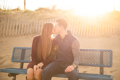 Fall Engagement Session at Little Island Park in Virginia Beach, VA