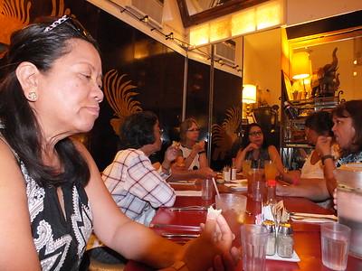 Special Dinner w/ Vistors Ermena & Sylvia and friends