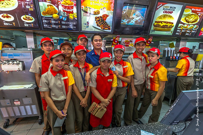 2014 Indang Cavite Jollibee Fastfood Crew