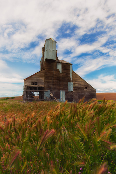 Old Palouse Grain elevator
