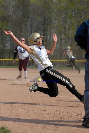 Varsity Softball - Holt at Okemos - April 28