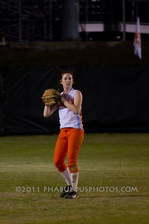 Colonial High School @ Boone Girls Varsity Softball - 2011