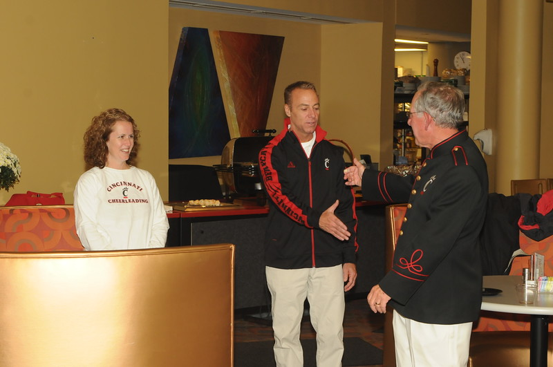 UC Band_Dr Terren L Frenz 50 yrs of Music_UC Campus_Cincinnati, OH