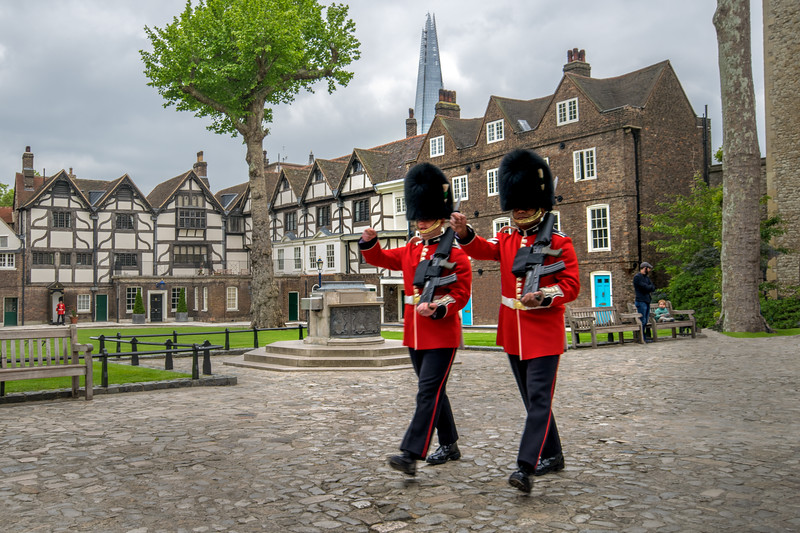 Tower Guards Marching