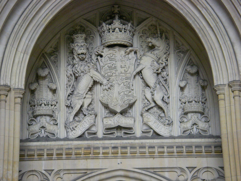 One of the thousands upon thousands of murals built into the walls; this was above the king's gate entrance
