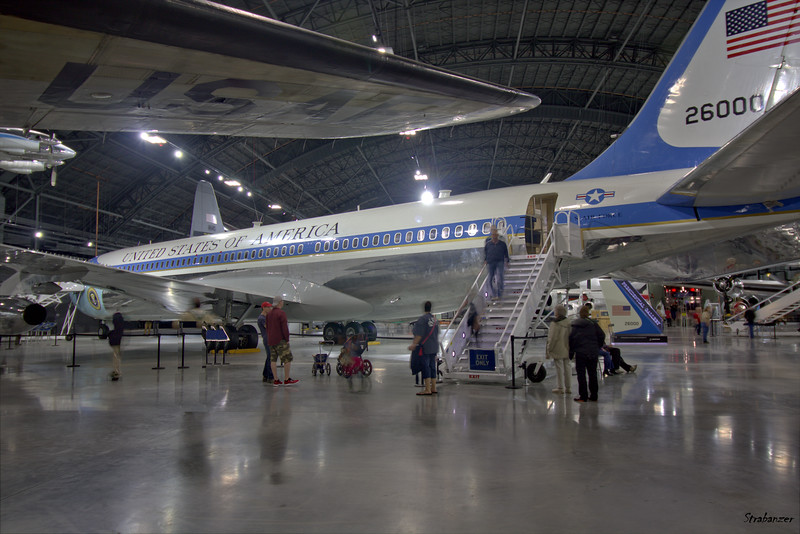 National Museum of the United States Air Force, Dayton, Ohio,   04/13/2019  Boeing VC-137C (707-353B) c/n 18461   62-6000 Presidential Aircraft  This work is licensed under a Creative Commons Attribution- NonCommercial 4.0 International License.