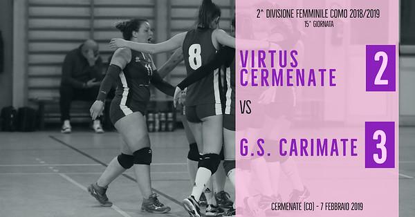 CO-2Df: 15^ Virtus Cermenate - GS Carimate