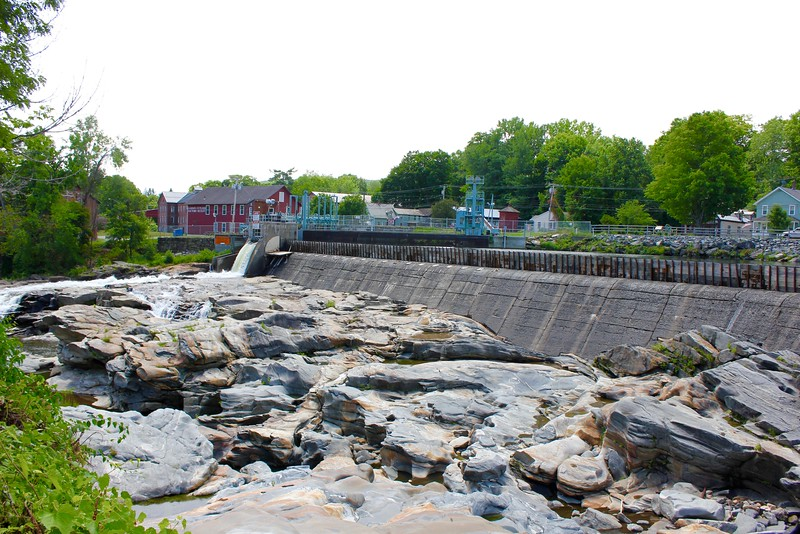 Glacial Potholes in Shelburne Falls, Massachusetts