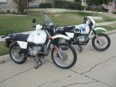 '81 & '86 R80G/S's