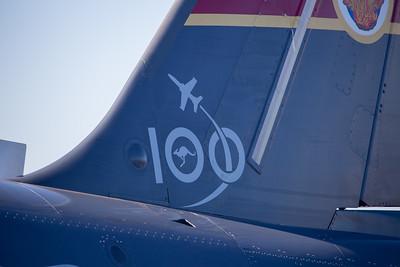 RAAF 100 Year Anniversary Geraldton Display