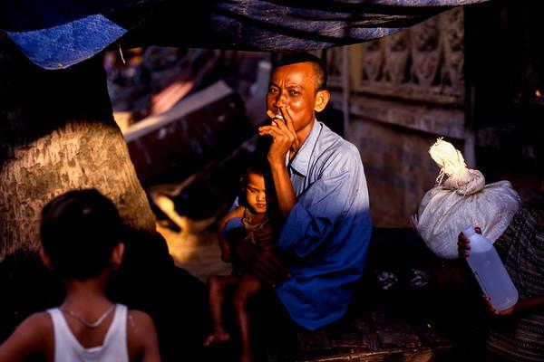 Cambodia, Faces