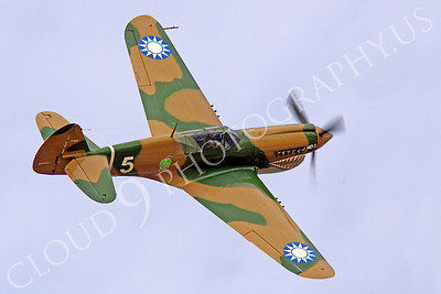 Flying Chinese Air Force Curtiss P-40 Warhawk Airplane Pictures