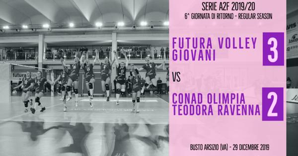 A2f - 1^ Futura Volley Giovani Busto Arsizio - Conad Olimpia Teodora Ravenna