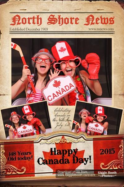 North Shore News - 2015 Canada Day Celebrations