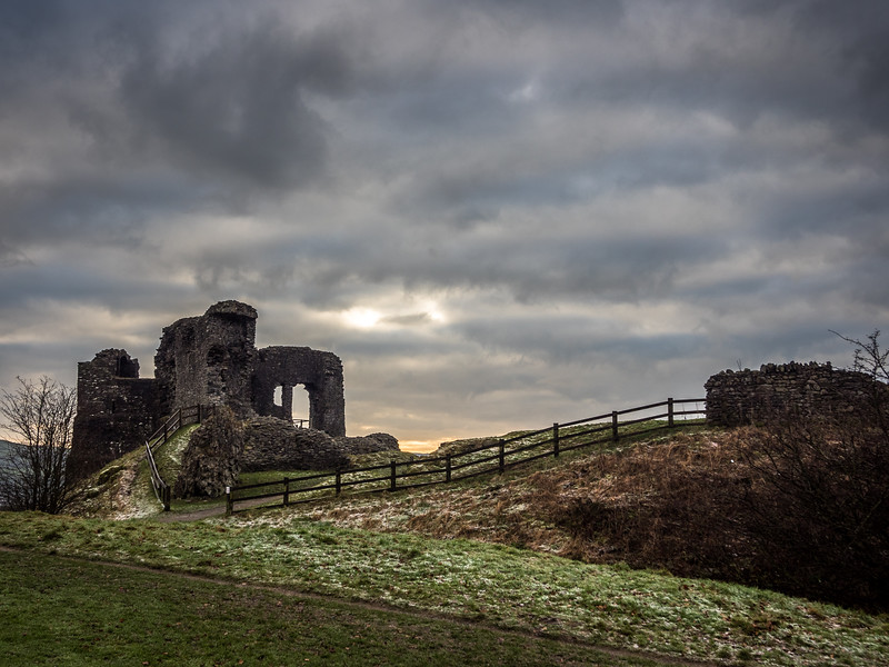 Ruins of Kendal Castle, England
