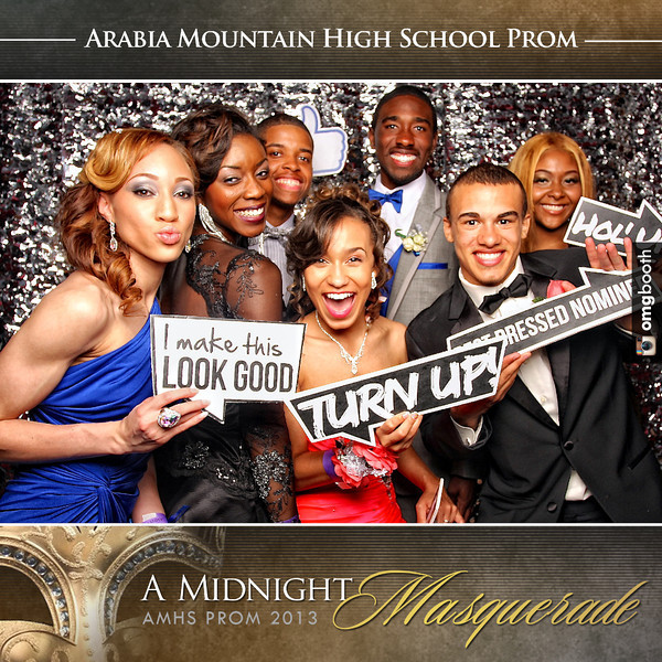 """04.20.2013 Arabia Mountain High School Prom 2013 The Twelve at Atlantic Station    Atlanta, GA  """"Like"""" us at www.facebook.com/omgbooth to TAG + SHARE + DOWNLOAD your photos   Arabia Mountain High School  Prom 2013  Follow us on Instagram at """"omgbooth"""""""