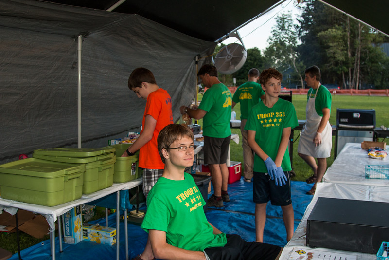 Troop 253 at the Norwich Fair