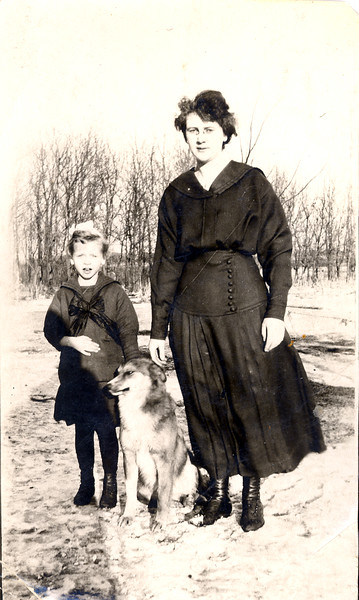 Sophie Olson and Mable with dog - enh.jpg