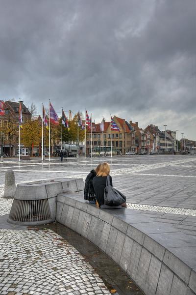 T Zand Square - Brugge, Belgium - November 2, 2010