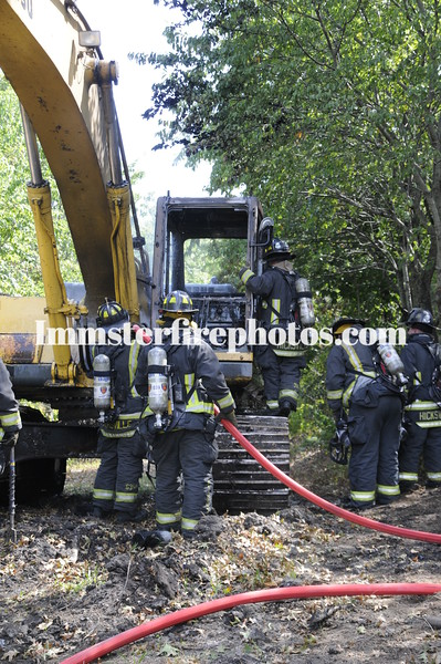 HFD back hoe fire & East Meadow girl scouts 138