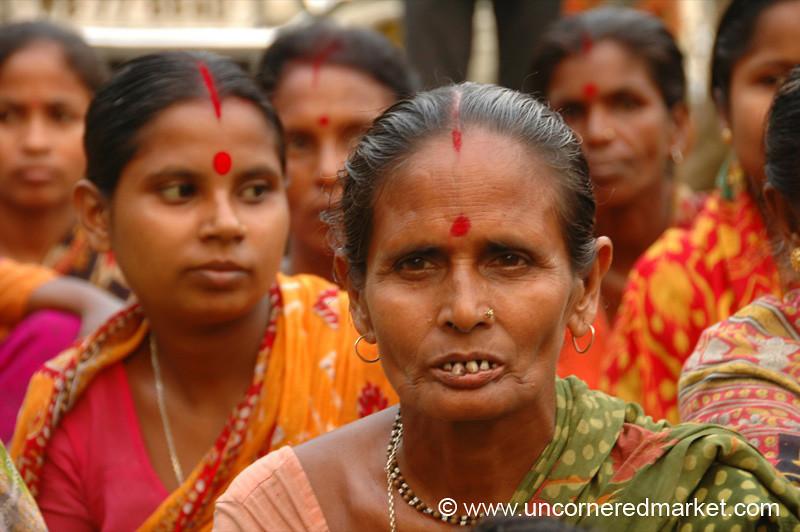 Indian Women, Microfinance - West Bengal, India
