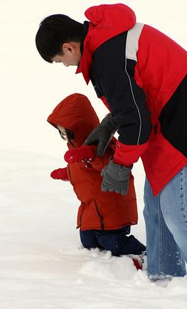 Fun in Snow - March 9, 2008