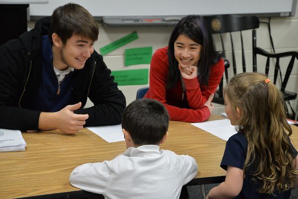 A.P. Psychology Visit Pre-K & 1st Grade