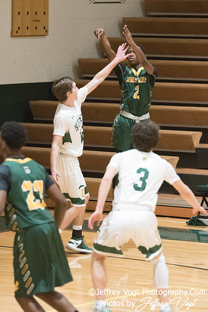 1/10/2018 Damascus HS vs Seneca Valley HS Boys Varsity Basketball, Photos by Jeffrey Vogt Photography
