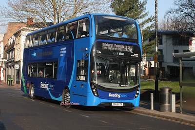 704, YN66EZR, Reading Buses, St Mary's Butts