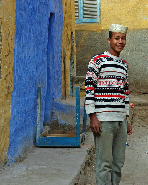 our nubian guide
