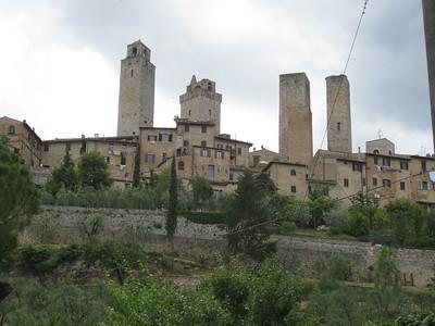 San Gimignano, etc