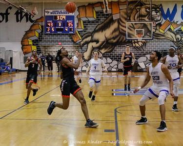 Boys Varsity Basketball v West Potomac 2/22/19