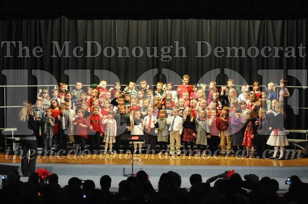 GS K-1 Chorus Christmas Program 12-13-12