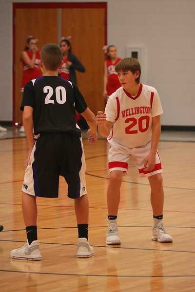 WMS Boys Basketball 7/8 vs Haysville West  113017
