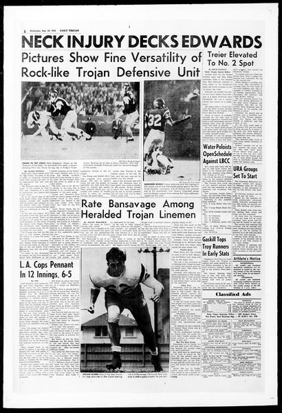 Daily Trojan, Vol. 51, No. 8, September 30, 1959
