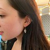 1.85ctw Victorian Leaf Component Earrings 1