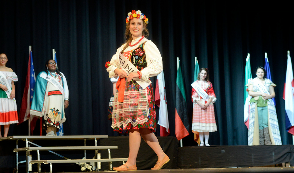 . Maribeth Joeright/MJoeright@News-Herald.com <p>  Anastazja Golab, Polish Princess, was one of the contestants of the 48th annual Lorain International Princess Pageant, June 26, 2014. She was the first runner up in the pageant.