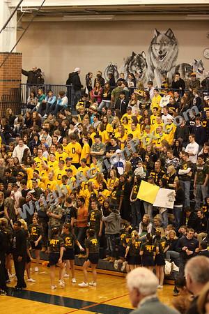 2009 01 16 Varsity Basketball Game vs. Pontiac Central
