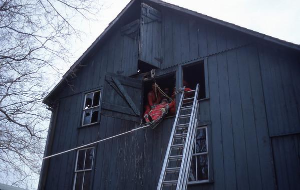 Rescue Drill - Kitz' Barn - 1968