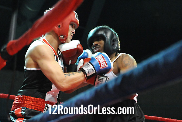 Edwn Santos(Raul Torres) vs Charles Paschall II(Cleveland BC) 152 Pound-Novice Bout # 4
