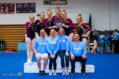 HS Sports - Div 2 Gymnastics Sectionals [d] Feb 22, 2018