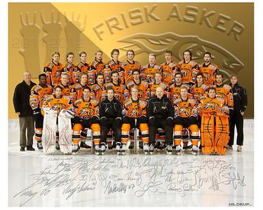 Frisk Asker 2011-2012 Lagbilde