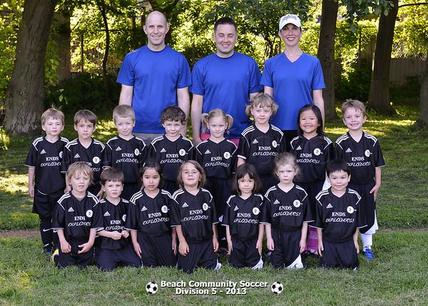 Division 5 Team pictures