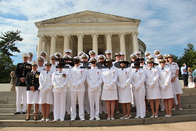 Naval Reserve Officer Training Corps Commissioning Ceremony