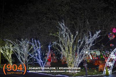 Beauclerc Rd Christmas Lights - 11.26.17