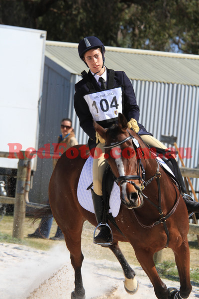 2012 08 25 Horsemens Pony Club 50th Anniversary ODE ShowJumping D Grade