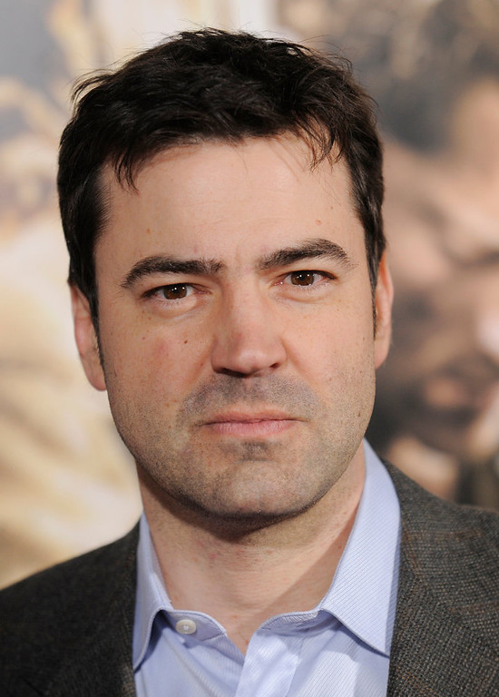 ". Ron Livingston arrives at the premiere of the ten-part HBO miniseries ""The Pacific\"" in Los Angeles, Wednesday, Feb. 24, 2010. (AP Photo/Chris Pizzello)"